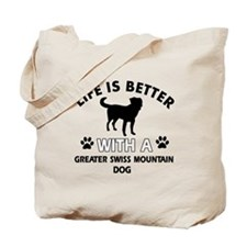 Greater Swiss Mountain Dog dog gear Tote Bag