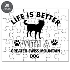 Greater Swiss Mountain Dog dog gear Puzzle