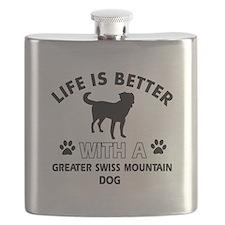 Greater Swiss Mountain Dog dog gear Flask