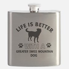Greater Swiss Mountain Dog dog gear Flask