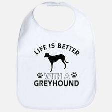 Greyhound dog gear Bib