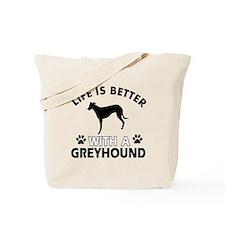 Greyhound dog gear Tote Bag
