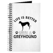 Greyhound dog gear Journal