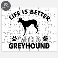 Greyhound dog gear Puzzle