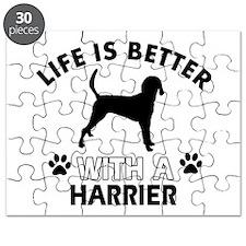 Harrier dog gear Puzzle