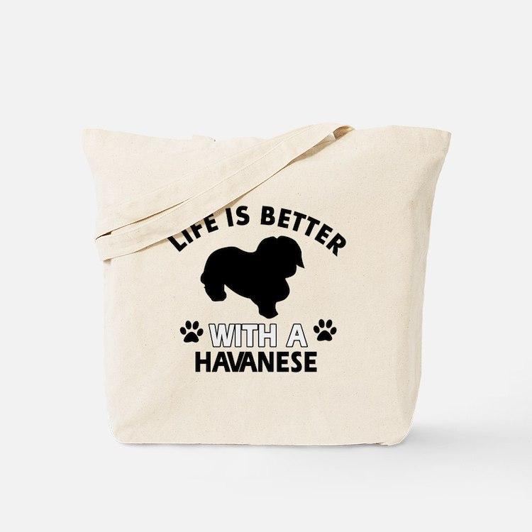 Havanese dog gear Tote Bag