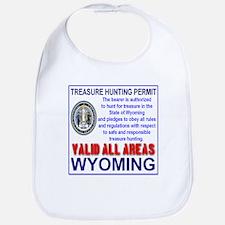Treasure Hunting Permit Wyoming Bib