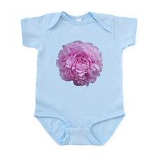 Pink Peony Flower Infant Bodysuit