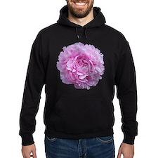 Pink Peony Flower Hoodie