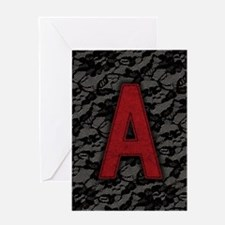 scarlet-a_9x12.jpg Greeting Card