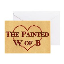 The Painted W Of B Greeting Card