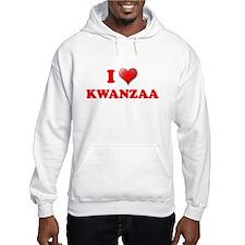 I LOVE KWANZAA KWANZA SHIRT M Hoodie