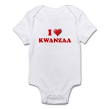 I LOVE KWANZAA KWANZA SHIRT M Infant Bodysuit
