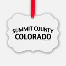 Summit County Colorado Ornament
