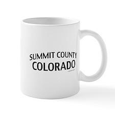 Summit County Colorado Mug