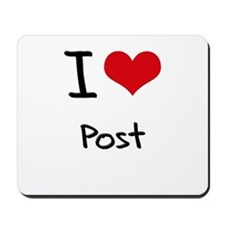 I Love Post Mousepad