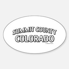 Summit County Colorado Decal
