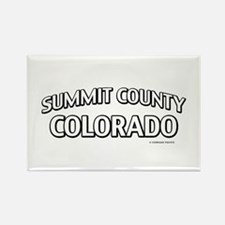 Summit County Colorado Rectangle Magnet