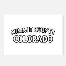 Summit County Colorado Postcards (Package of 8)