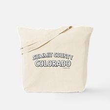 Summit County Colorado Tote Bag