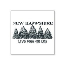 Live Free or Die Sticker