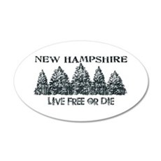 Live Free or Die Wall Decal