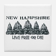 Live Free or Die Tile Coaster