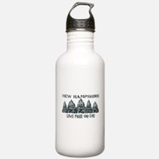Live Free or Die Water Bottle