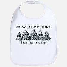 Live Free or Die Bib