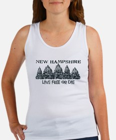Live Free or Die Tank Top