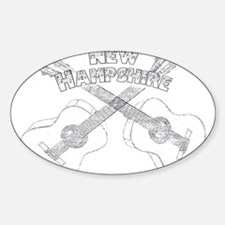 New Hampshire Guitars Decal