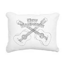 New Hampshire Guitars Rectangular Canvas Pillow