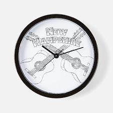 New Hampshire Guitars Wall Clock