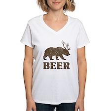 Bear+Deer=Beer Vintage Shirt