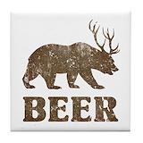 Funny deer Drink Coasters