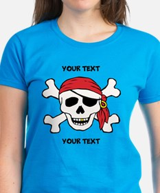 PERSONALIZE Funny Pirate Tee