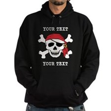 PERSONALIZE Funny Pirate Hoody