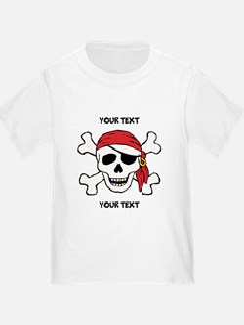 PERSONALIZE Funny Pirate T
