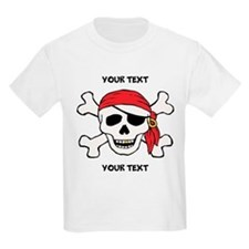 PERSONALIZE Funny Pirate T-Shirt