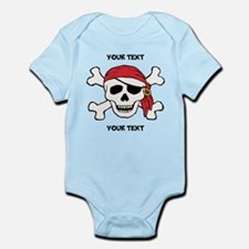 PERSONALIZE Funny Pirate Infant Bodysuit