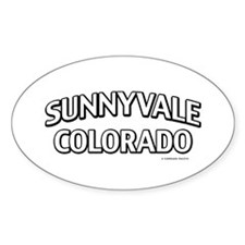 Sunnyvale Colorado Decal