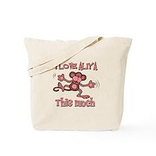 I love Aliya Tote Bag