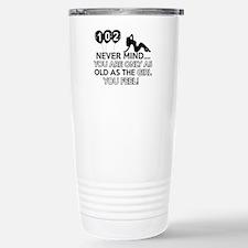 102th year old birthday designs Travel Mug