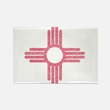 New Mexico State Flag Rectangle Magnet (100 pack)