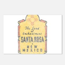 Faded Santa Rosa NM Postcards (Package of 8)