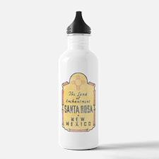 Faded Santa Rosa NM Water Bottle