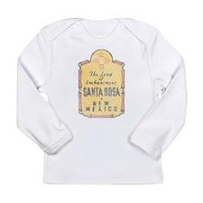 Faded Santa Rosa NM Long Sleeve T-Shirt