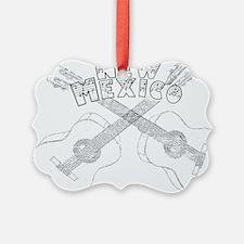 New Mexico Guitars Ornament