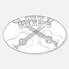 New Mexico Guitars Decal