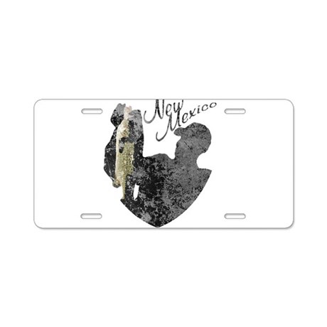 New mexico fishing aluminum license plate by nationalvintage for Mexico fishing license